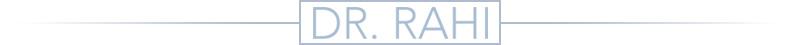 Patient Feedback for Dr. Rahi's Integrative Aesthetics™ Specialist in SoHo, NY